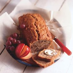 Banana bread recipes are a great way to use overripe bananas. This recipe gets added crunch from chopped walnuts.