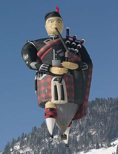 Piper - Hot Air Balloon  Today, hot air balloons are used primarily for recreation, and there are some 7,500 hot air balloons operating in the United States. Recently, balloon envelopes have been made in all kinds of shapes, such as hot dogs, rocket ships, and the shapes of commercial products, like you can see in these pictures. To help ensure the safety of pilot and passengers, a hot air balloon may carry several pieces of safety equipment.  www.allpics4u.com