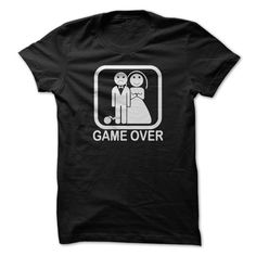 Game Over Funny Married Couple T shirt For Men Women Cotton Unisex