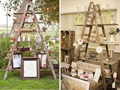 Wooden ladders - Inspiration