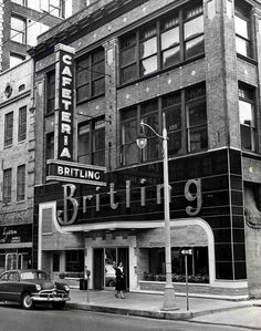The great Britling Cafeteria in Memphis circa 1950s