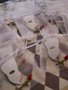 Phantom of the Opera party favors from the article Phantom of the Opera Party Ideas:http://www.squidoo.com/phantom-of-the-opera-party-ideas