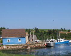 Coastal living in French Harbour, Prince Edward Island (PEI). Photo by J. Underwood.