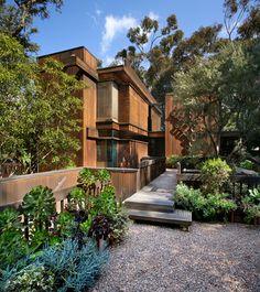 Ray Kappe design - redwood exterior