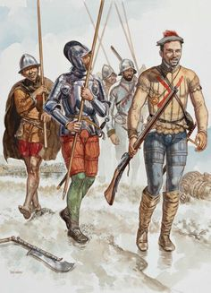 Soldiers of a Spanish Tercio