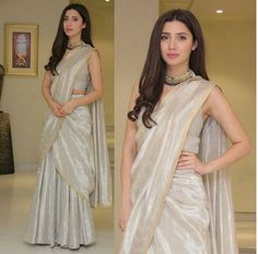 Mahira khan in simple sarree😍 Indian Sari CLICK Visit link for more info Pakistani Dresses, Indian Sarees, Indian Dresses, Ethnic Sarees, Indian Wedding Outfits, Indian Outfits, Indian Attire, Indian Wear, Stylish Sarees