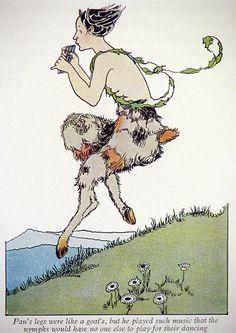 1926 Margaret Evans Price - Print of Pan