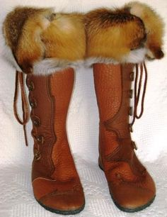 Beautiful Moccasin Boots from Sod Hoppers