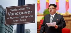 North Korea To Disarm Nuclear Weapons Program In Light Of Vancouver Sign #humor #funny #lol #comedy #chiste #fun #chistes #meme