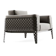 POIS Lounge Chair - Tradition and innovation are designed to break through new frontiers.