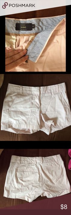 Peach Color Chinos Color is like the first picture. My camera picked it up strange. Very light pink color/ peach. J. Crew Shorts