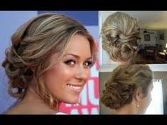 lauren conrad hair messy up do