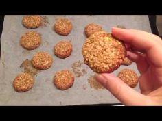 Oatmeal date cookies - YouTube