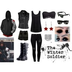 """""""The Winter Soldier"""" by JotunheimsQueen on Polyvore"""