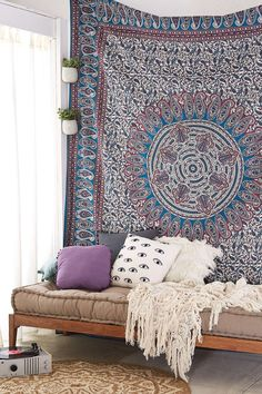 Magical Thinking Ygrite Medallion Tapestry - Urban Outfitters