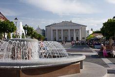 Town Hall Square - Vilnius, Lithuania