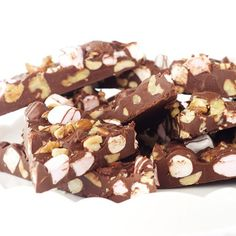 Nutella Rocky Road Bark