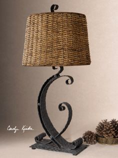 Uttermost Rendall Metal Table Lamp