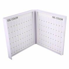 High Quality Professional 120 Colors Nail Gel Polish Display Card Book