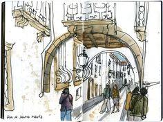 desenhador do quotidiano: Guimarães