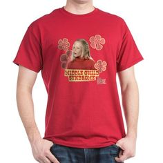 The Brady Bunch: Jan Brady T-Shirt on Cafepress.com - Image of Jan Brady featuring the text middle child syndrome.