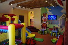 "Inside playground for kids ""Karapūzas"" in Kretinga /Lithuania/"