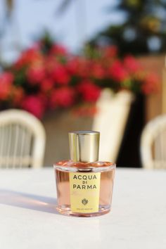 There's a new Summer scent addition to my travel beauty and it's the new Acqua Di Parma Rosa Nobile