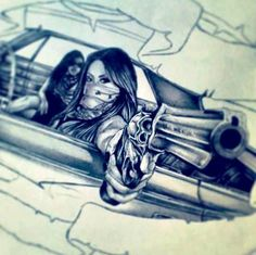 Chicanas En LowriderThis Is BADASS