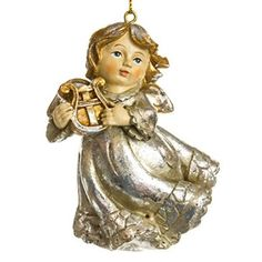 Angel with Harp Ornament http://shop.crackerbarrel.com/Angel-with-Harp-Ornament/dp/B013H3Q9O2