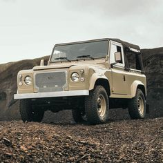 """petroliciousco: """"The inaugural @coolnvintage Land Rover D90 'Heritage' now listed for sale on the @petroliciousmarketplace • #DriveTastefully http://petro.li/2fXnO5d """""""