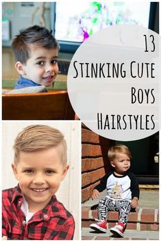 13 Stinking Cute Boys Hairstyles | How Does She