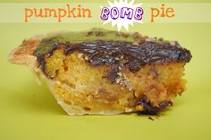 "This is not your grandmother's pumpkin pie. This is a BOMB pie. Did you ever see that episode of ""The Best Thing I Ever Ate: Guilty Pleasures"" on FN with Duff Goldman and the Baltimore Bomb Pie? Ever since I saw that episode, well over a year ago, I've been tinkering with different ""bomb pie"" …"