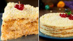 Prăjitură fără coacere cu gust delicios de înghețată! - savuros.info Chocolate, Creme Dessert, Raw Vegan, Vanilla Cake, Cheesecake, Sweets, Make It Yourself, Food, Talenti Gelato Flavors