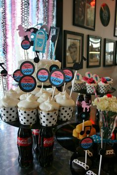 oh goodie designs sock hop malt shop party