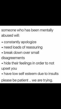 I struggle with these things, but I don't think I've been mentally abused. I Can Relate, Trauma, Ptsd, How I Feel, In My Feelings, Writing Tips, Deep Thoughts, True Quotes, In This World