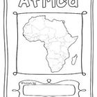 Africa 55 Countries Study - worksheets with maps and flags for each country - İnteresting İnformation And Curiosities Continents And Countries, Countries Europe, Interesting Information, Interesting Facts, Geography Map, Map Globe, Easel Activities, Africa Map, Oceans Of The World
