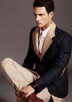 CoverMen Mag - Ivan Noda, top male model : Photos