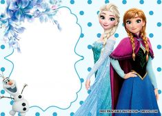 Free Printable Frozen Anna And Elsa Invitation Templates with regard to Frozen Birthday Card Template - Professional Sample Templates Disney Frozen Invitations, Frozen Birthday Invitations, Frozen Themed Birthday Party, Disney Frozen Birthday, Free Printable Birthday Invitations, Birthday Card Template, Wedding Invitations, Unicorn Invitations, Dinner Invitations