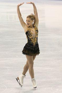 Joannie Rochette. I love that dress <3<3