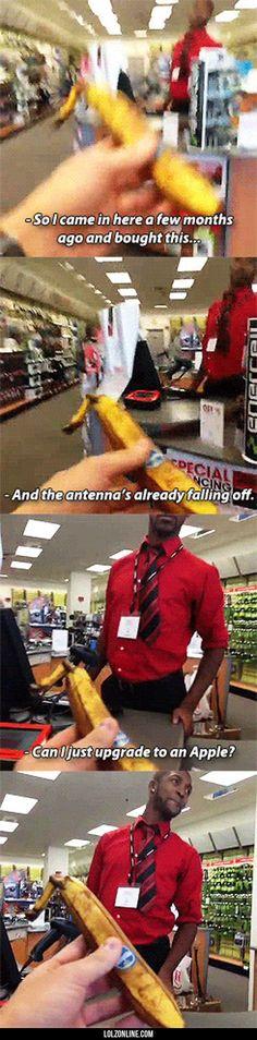 Please Upgrade My Banana#funny #lol #lolzonline