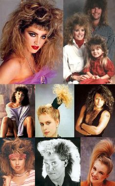 eighties hair