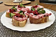 Recept : Sýrová pomazánka s červenou řepou | ReceptyOnLine.cz - kuchařka, recepty a inspirace Tuna, Fish, Meat, Pastel De Nata, Pisces, Atlantic Bluefin Tuna