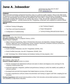 mobile device test engineer sample resume 14 useful materials for quality - Control Systems Engineer Sample Resume