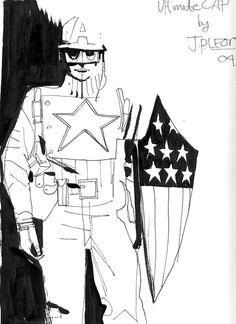 Ultimate WWII Captain America by John Paul Leon *