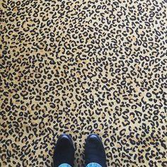 Leopardu #ihavethisthingwithfloors