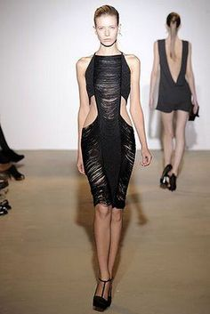 Sexy Azzedine Alaia dress