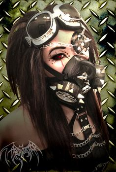 A photo created by me AsianTattoo. I did my own makeup and touched it up with…