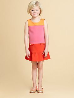 Juicy Couture - Toddler's & Little Girl's Colorblock Dress - Saks.com