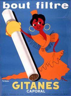 Gitanes – Fix-Masseau – Francia (1960)