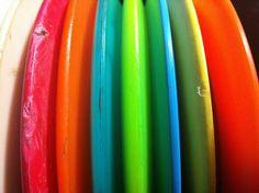 a disc golf rainbow
